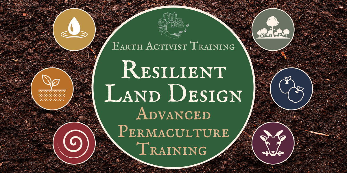 Resilient Land Design | Advanced Permaculture Training @ Earth Activists Online